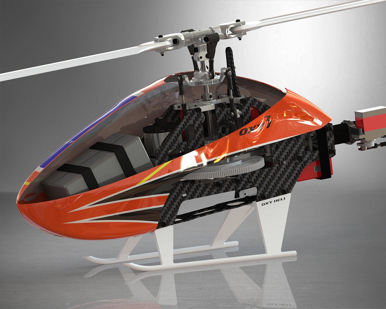 OXY 3 - Canopy design & Oxy 3 Helicopter Kit u2039 OXY Helicopter